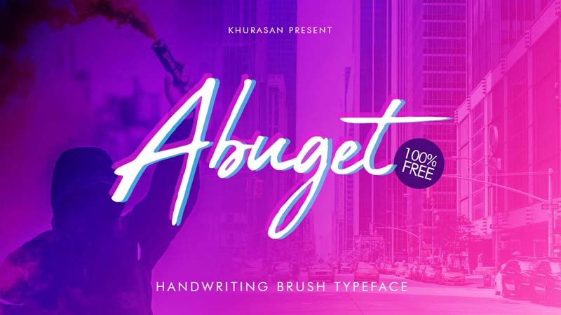 Abuget Font Family Free Download