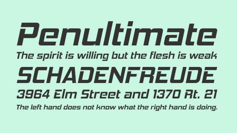 Hemi Head Font Family Download