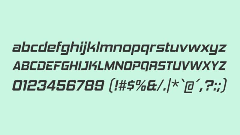 Hemi Head Font Free Download