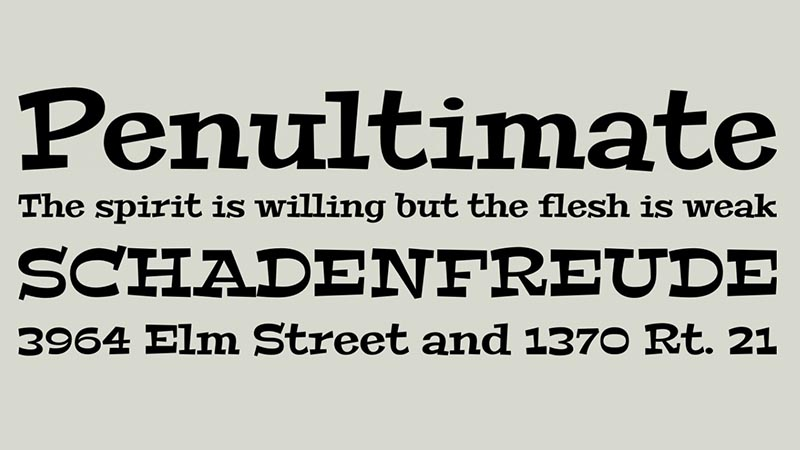 Peralta Font Family Free Download