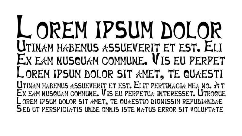 1stlines Font Family Download
