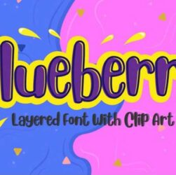 Blueberry Font Family Free Download