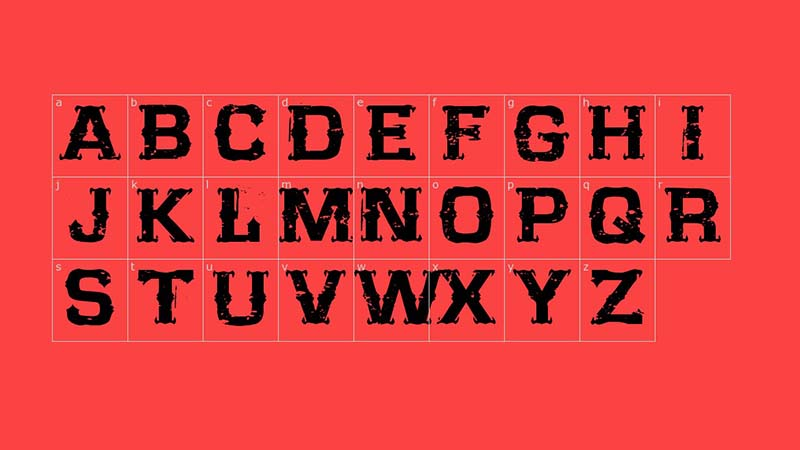 CF Far West Font Family Download