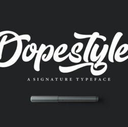 Dopestyle Font Family Free Download