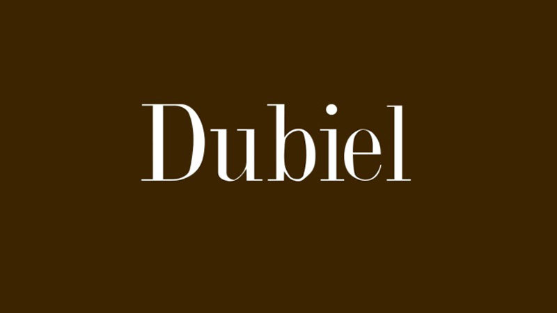 Dubiel Font Family Free Download
