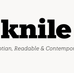 Knile Font Family Free Download