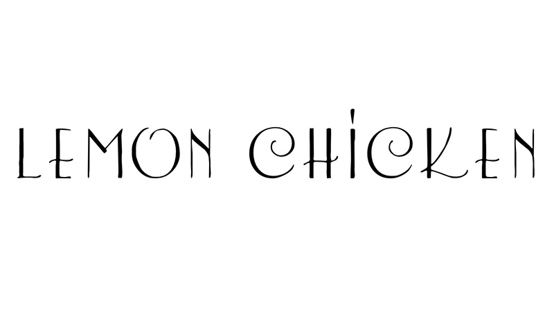 Lemon Chicken Font Family Free Download