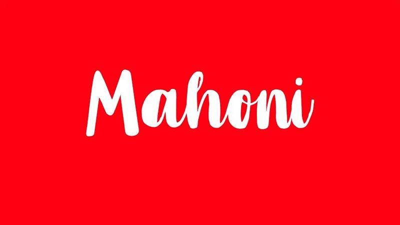 Mahoni Font Family Free Download