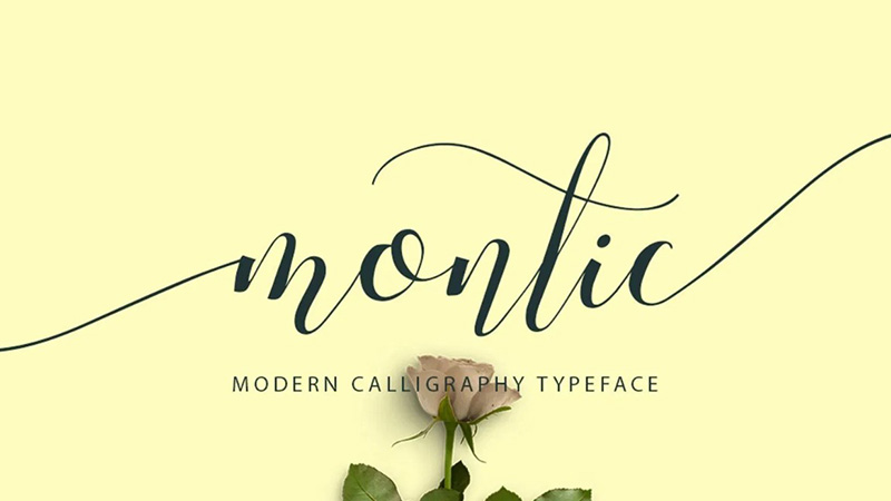 Montic Font Family Free Download