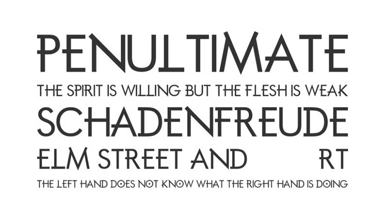 Mortal Engines Font Family Download