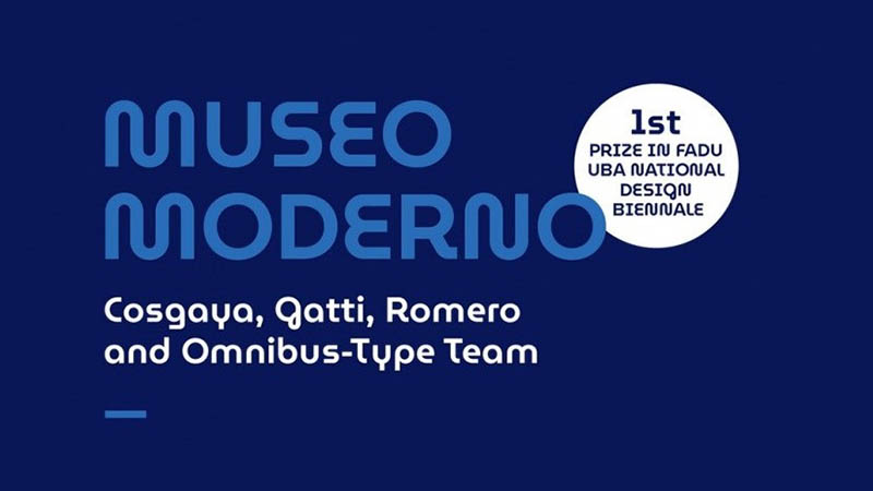 MuseoModerno Font Family Free Download