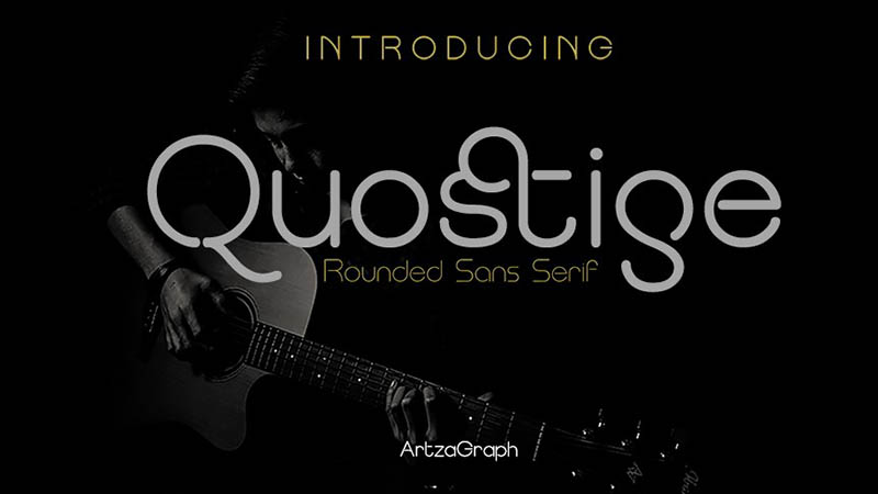 Quostige Font Family Free Download