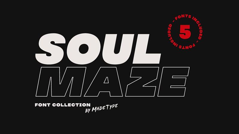 Soul Maze Font Family Free Download
