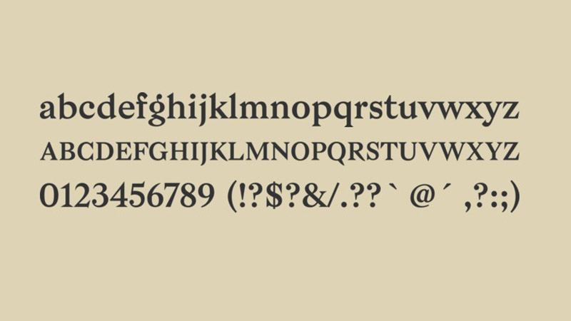 Bagnard Font Free Download