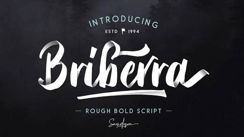 Briberra Font Family Free Download