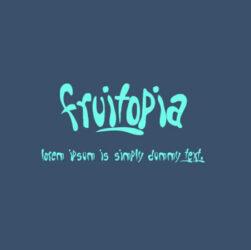 Fruitopia Font Family Free Download