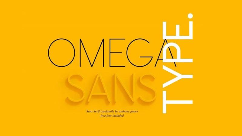 Omega Sans Font Family Free Download