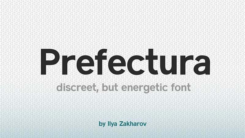 Prefectura Font Family Free Download