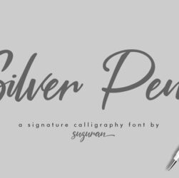 Silver Pen Font Family Free Download
