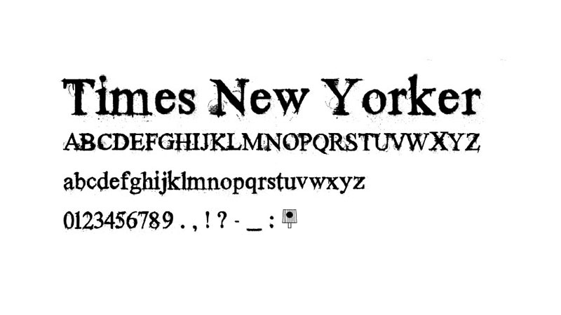 Times New Yorker Font Free Download