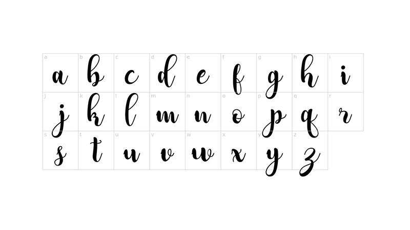 Adreena Script Font Family Download