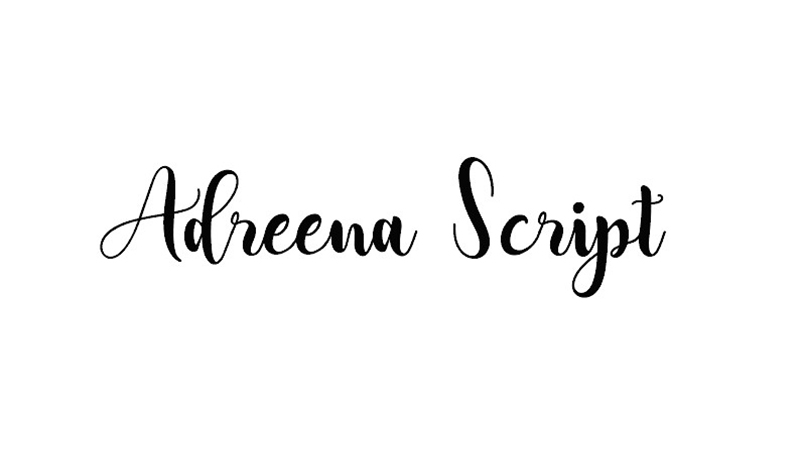 Adreena-Script-Font-Family-Free-Download