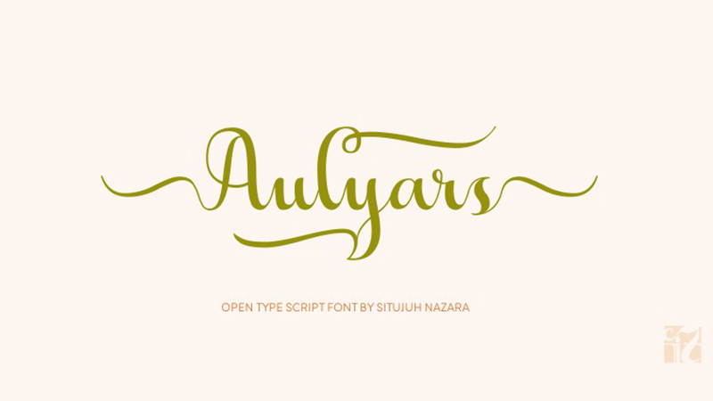 Aulyars Font Family Free Download