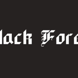 Black Forest Font Family Free Download
