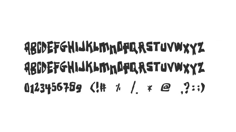 Earthquake Font Free Download
