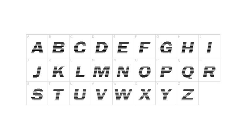 Linear Beam Font Family Download