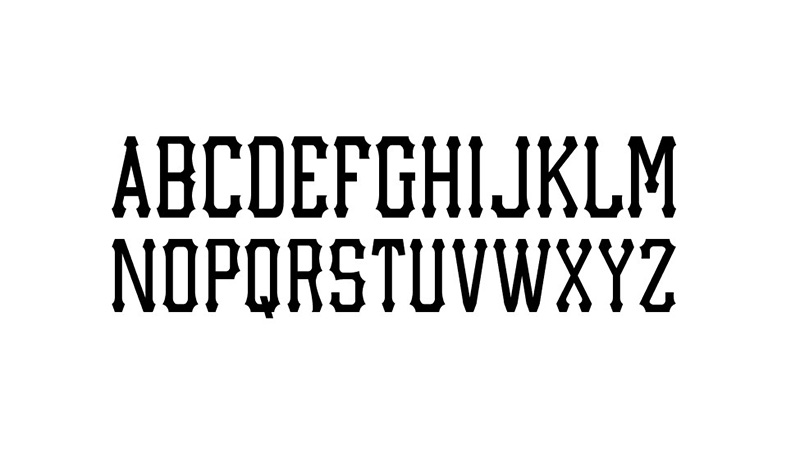 MLB Pirates Font Free Download