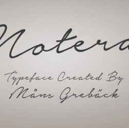 Notera Font Family Free Download