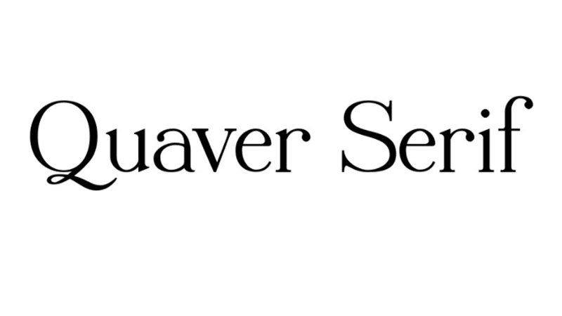 Quaver Serif Font Family Free Download