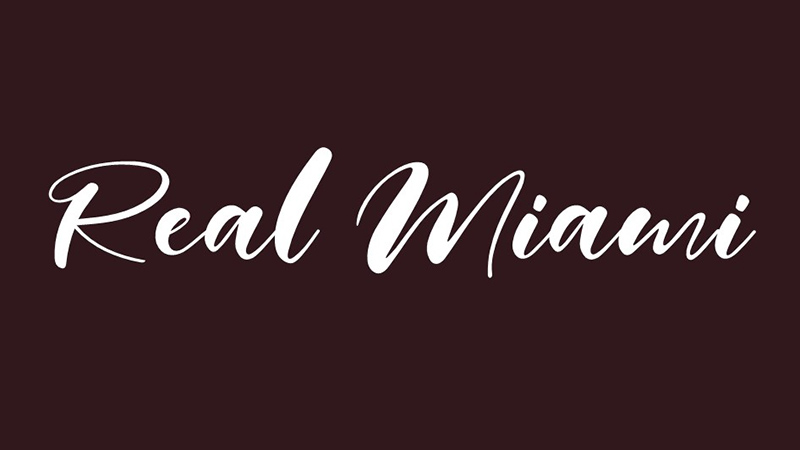 Real Miami Font Family Free Download