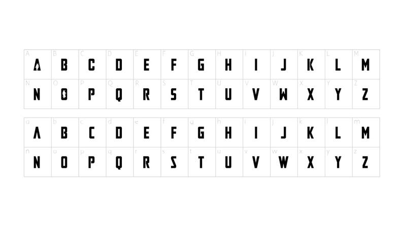 The Mandalorian Font Family Download