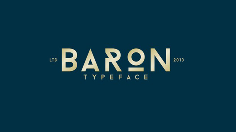 Baron Font Family Free Download