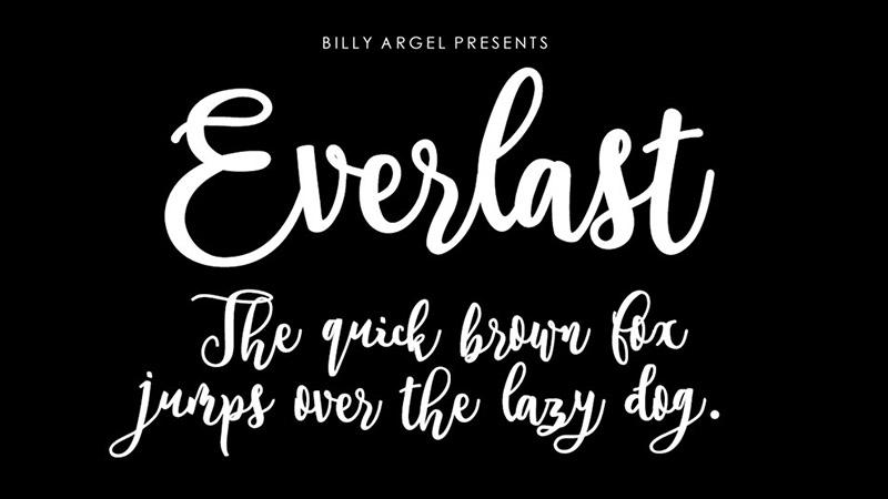 Everlast Font Family Download