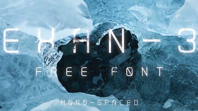 Exan Font Family Free Download
