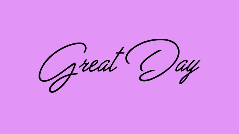 Great Day Font Family Free Download