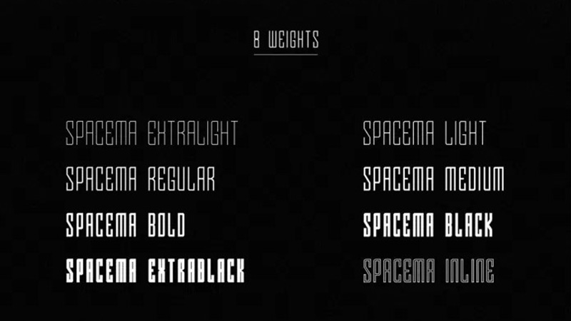 Spacema Font Free Download