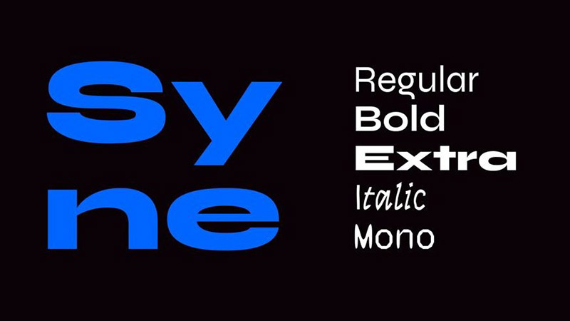 Syne Font Family Download