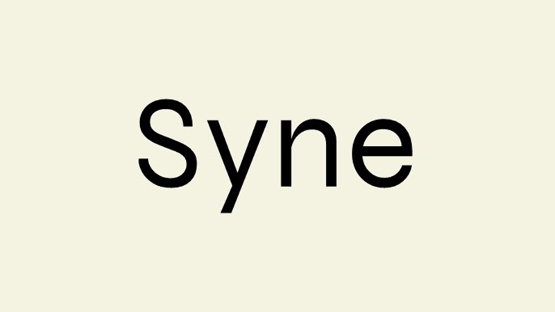 Syne Font Family Free Download