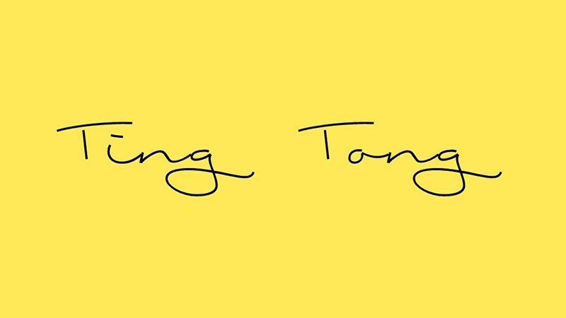 Ting Tong Font Family Free Download