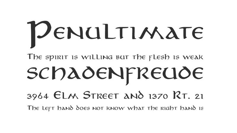 Aniron Font Free Download