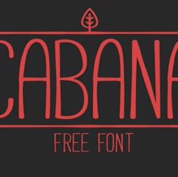 Cabana Font Family Free Download