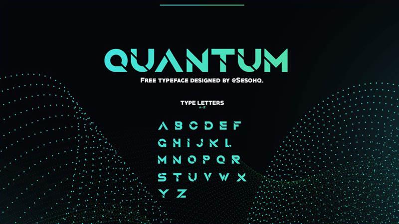 Quantum Font Family Free Download