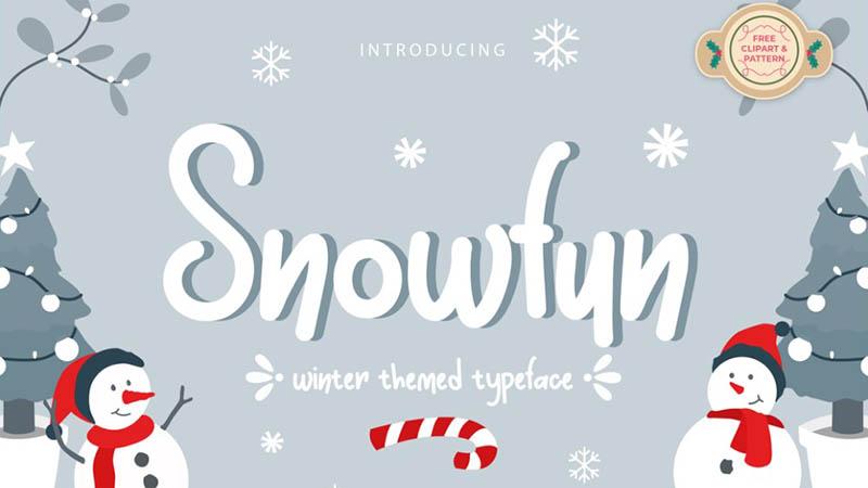 Snowfun Font Family Free Download