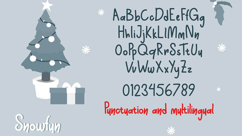 Snowfun Font Free Download