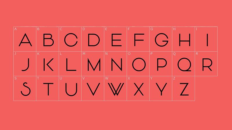 Vonique 43 Font Family Download
