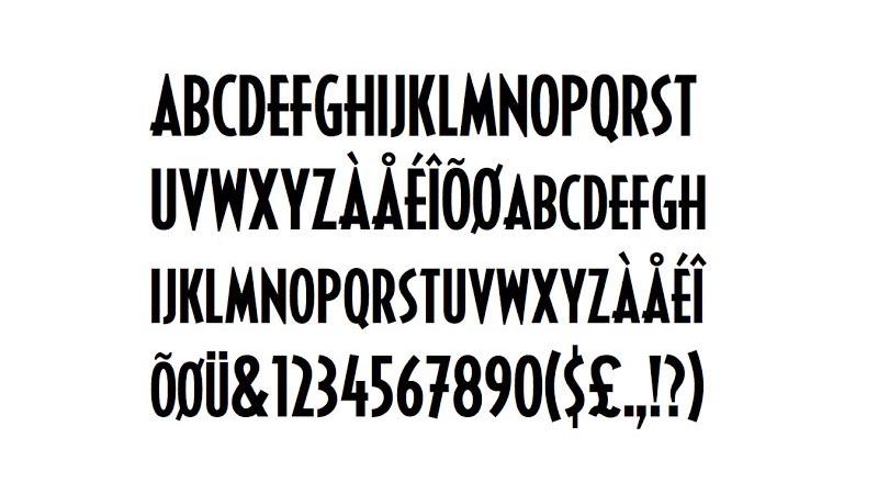 Black Panther Font Free Download